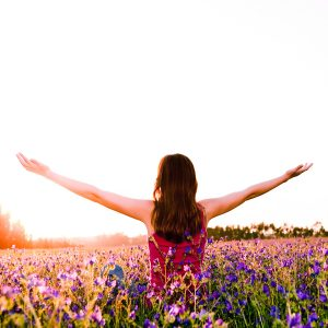 spring-woman-nature-happy